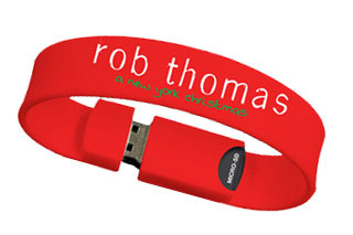 Rob Thomas - A New York Christmas USB Wristband