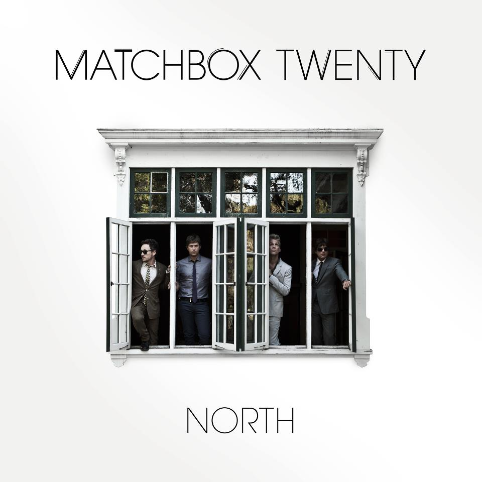 Don't Jump! Matchbox Twenty release Official Album Cover to North!