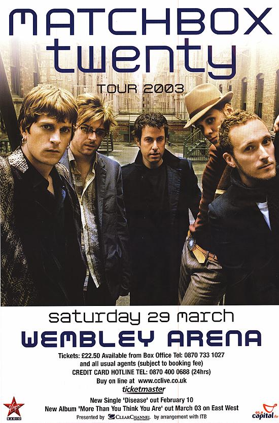 Matchbox Twenty in 2003