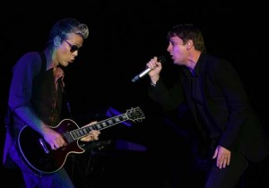 Kyle Cook and Rob Thomas @ the Pechanga Show