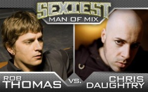 Vote for Rob Thomas in MIX battle for the sexiest man!
